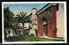 258.-SEVILLA -El Pórtico del Convento de Sta. Paula (Colección Chaparteguy)