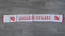 The Rolling Stones Mick Jagger band rock RARE Vintage music scarf sjaal