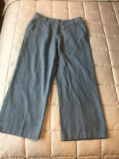 Rohan Ladies Travel Linen Trousers Size 12
