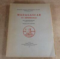 MADAGASCAR ET DEPENDANCES - DELELEE-DESLOGES ILL. LE SCOUEZEC - 1931