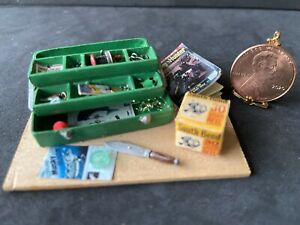Wright Guide Filled Tackle Box.