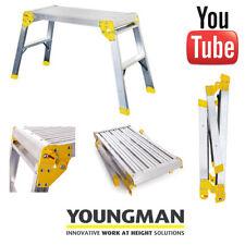 Youngman dispari job piattaforma passo Ladder DECORATORI banco di lavoro pieghevole passo HOP UP