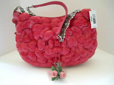 "Brighton ""ROSELIE"" Azalia Patent/Leather Handbag (MSR$190) NWT/Dust Cover"