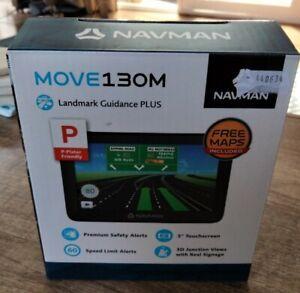 Navman MOVE130M 5 inch GPS Navigator - Black
