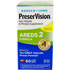Preservision Areds2 Softgels 60ct Eye vitamin mineral supplement