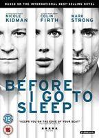 BEFORE I GO TO SLEEP NICOLE KIDMAN COLIN FIRTH MARK STRONG STUDIOCANL UK DVD NEW
