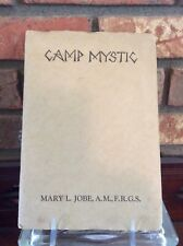 Camp Mystic, A Girl's Summer Camp ( 1920s), Brochure And Application