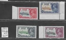 4 Falkland Islands #77-80 MH Stamps from Quality Old Antique Album 1935