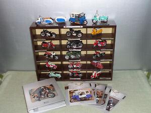 atlas DDR Motorrad Moped collection Auswahl 1:24 teils mit Heft ES DUO Dnepr awo