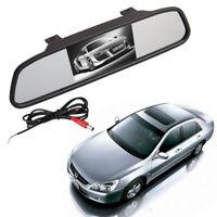 """Espejo con Monitor 4.3"""" TFT LCD para Camara Retrovisor coche"""
