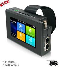 "4"" HD CCTV IP Camera Tester Wrist Support 8MP TVI/CVI/AHD IPC-1800ADH Plus"