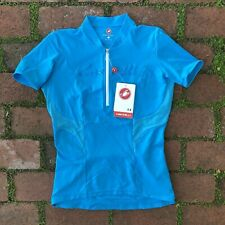 Womens Mavic Pro Cycling Dolce Jersey Blue Size Medium M NWT