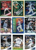 2018 Donruss Baseball Inserts SP Holo Variations Singles Pick Card Build Set lot