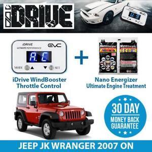 IDRIVE THROTTLE CONTROL for JEEP JK WRANGER 2007 ON + NANO ENERGIZER AIO
