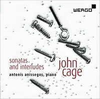Antonis Anissegos - Cage: Sonatas and Interludes for prepared piano [CD]