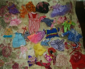 Huge lot of Barbies little sister Kelly outfits clothes Party dress holiday wow
