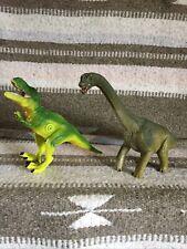 New listing Schleich Dinosaur Brontosaurus And A Noise Making Dinosaur Both New