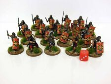 28mm Early Imperial Roman Legionaries - Painted & Based #1