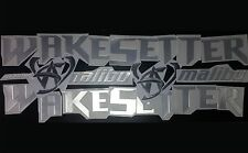 "malibu wakesetter boat Emblem 100"" + FREE FAST delivery DHL express"