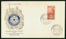 Mayfairstamps Germany FDC 1955 Rotary International Factory First Day Cover wwr_