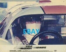 Steve Mc Queen Le Mans Courses automobile Photo vintage originale kodak