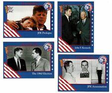 "1992 ""Decision '92"" John F Kennedy Political Trading Card Set (4)"