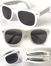 Y1152F Foldable Wayfare UV400 Protect Sunglasses Stylish 80's Retro Geek Design