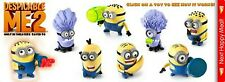 McDonald's Happy Meal Toys Despicable ME2 Complete Set – New, Unopened