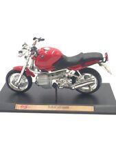 bmw r 1100 r   moto miniature 1/18 n19/60 maisto altaya fascicule