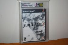 Document of Metal Gear Solid 2 (PS2 Playstation 2) NEW SEALED MINT GOLD VGA U90!