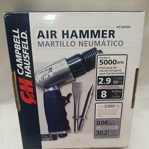 "Campbell Hausfeld 1-5/8"" Air Chisel - Air Hammer AT100000 New Jitter Bug, Needle"