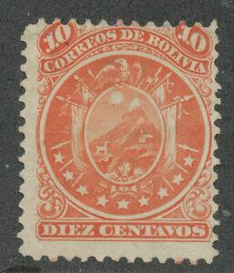 BOLIVIA-1868 SC # 11 A4,MLH