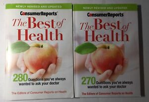2 Consumer Reports The Best of Health 2011 & 2013
