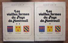 LES VIEILLES FERMES DU PAYS DE MONTREUIL - REGIONALISME PAS-DE-CALAIS - A. LEROY