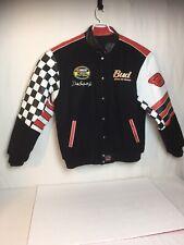 Dale Earnhardt Jr. 2004 NASCAR 2XL Wool/Leather Jacket reversable- 1BUD