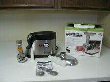WESTON NO. 5 DELUXE ELECTRIC MEAT GRINDER COMPLETE WORKS