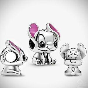Disney's Lilo And Stitch Silver S925 Pandora Charm ALE 798844C01