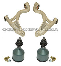 LINCOLN LS V6 V8 Front Lower Control Arms Ball Joints Bushings LEFT + RIGHT 4 PC