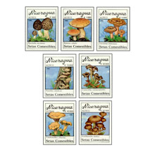 NIC9005 Mushrooms 7 stamps