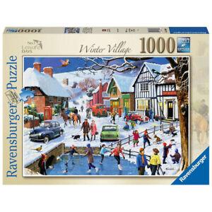 Ravensburger Jigsaw Puzzle 13988 Leisure Days No.3 Winter Village 1000 Piece