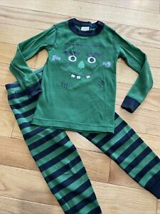 Hanna Andersson Frankenstein Halloween Long John Pajamas Size 100cm 4T