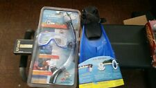 U.S Divers Aqua Lung Mask Cortez LX  and Snorkel Total Dry Pro Series
