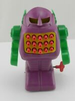 Vintage Windup Toy 1969 Mechanical Astroids Wind Up Robot Celluloid