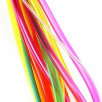 40-120Cm Multicolor Tube Circular Carbonized Bamboo Knitting Needles Set#T