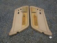 corvette door panels 1978-1982 pair tan/doeskin color decent used