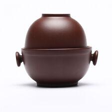 Yixing argilla Zisha Bruno cinese Gongfu Tè Tazza e teiera set da viaggio 150ml