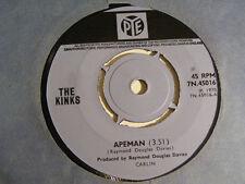 "THE KINKS Apeman Ex Pye UK 1970 7"""