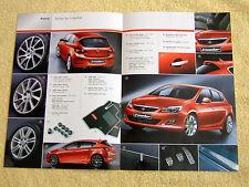 Vauxhall Astra Mk6 Irmscher Brochure 2009, 5 door hatch Models