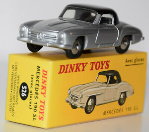 DINKY TOYS ATLAS - MERCEDES 190 SL - 526 -  Complet - Neuf en boîte - MIB