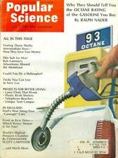 1970 Popular Science Magazine: Gas Octane/Bob Gannon on Aluminaut/Fly Helicopter